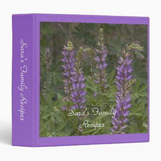 Wildflower Recipe Binder 2