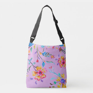 Wildflower Riot Crossbody Bag