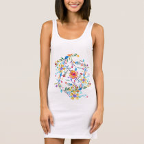 Wildflower Riot Sleeveless Dress