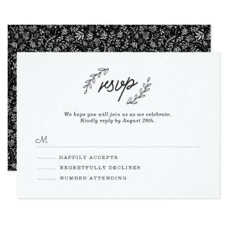 Wildflower RSVP Card