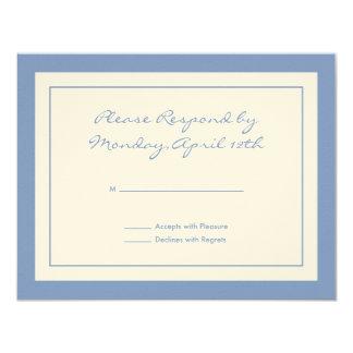 Wildflower RSVP Card Custom Invites