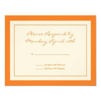 Wildflower RSVP Card Invitation