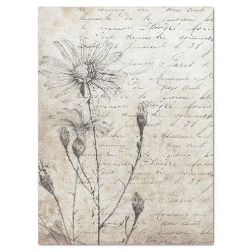 WILDFLOWER SCRIPT TISSUE PAPER