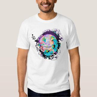Wildflower & Scroll Tee Shirt