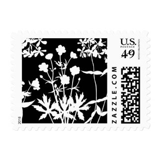 Wildflower Silhouettes Stamps