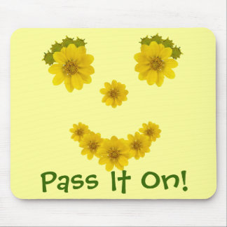Wildflower Smile Mouse Pad
