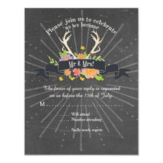 Wildflower Starburst de la asta de los ciervos de Comunicados Personalizados