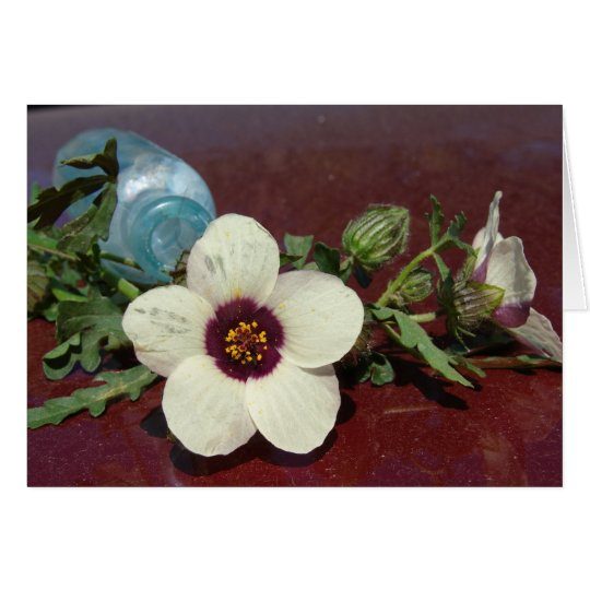 Wildflower Still Life Card