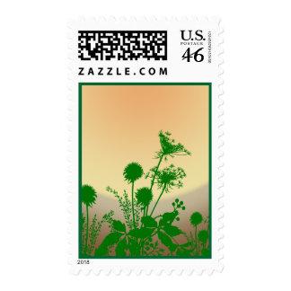Wildflower Sunset - Postage #1