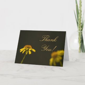 Wildflower Thank You Card 1 card
