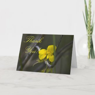 Wildflower Thank You Card 2 card