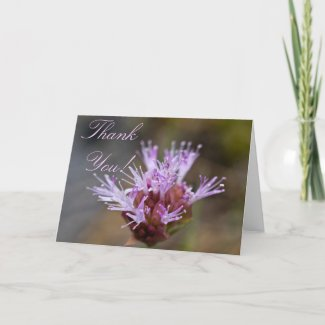 Wildflower Thank You Card 3 card