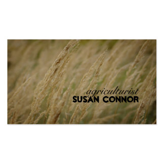 Wildflower Wind Song Agriculturist Business Card Business Card Template