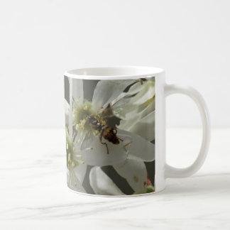 Wildflower with Hover Fly, Mug. Coffee Mug
