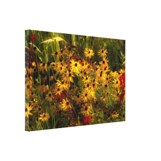 Wildflower Wrapped Canvas Canvas Print
