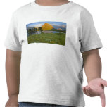 Wildflowers a lo largo del lago Swiftcurrent en el Camiseta