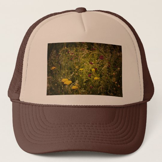 Wildflowers Along the High Line Park Trucker Hat