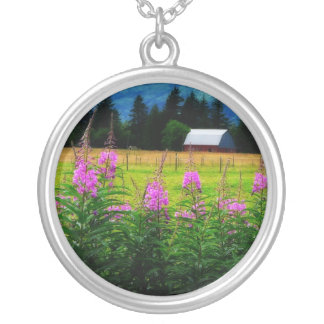 Wildflowers and Country Barn Necklaces
