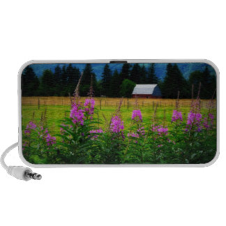 Wildflowers and Country Barn Travel Speakers