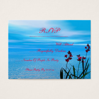 Wildflowers and Ocean Business Card