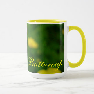 Wildflowers Art Coffee Cup Buttercup Flower Cup
