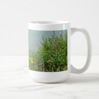 Wildflowers at Green Lane Reservoir Coffee Mug