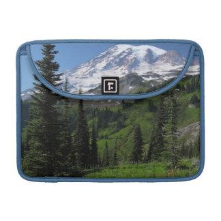 Wildflowers at Mount Rainier Sleeve For MacBooks