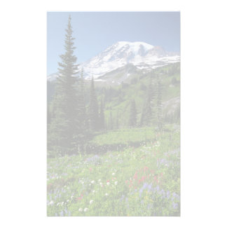 Wildflowers at Mount Rainier Stationery
