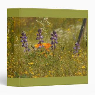 Wildflowers Avery Binder