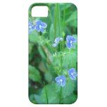 Wildflowers azules minúsculos iPhone 5 Case-Mate cobertura