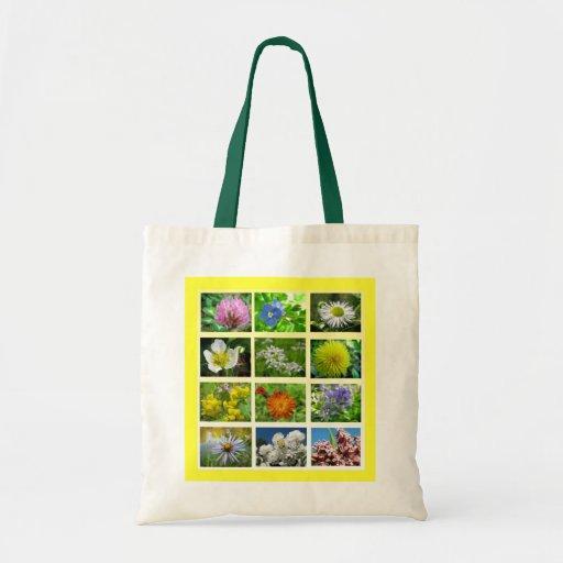 Wildflowers Canvas Bag