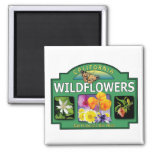 Wildflowers Bay Area Magnet