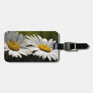 Wildflowers Bejeweled rocío de la margarita de ojo Etiquetas Bolsa