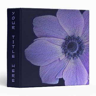 Wildflowers Binder Book - Custom Recipe Book