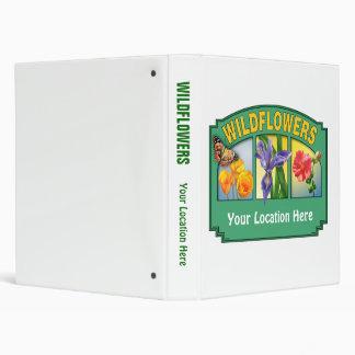 Wildflowers Binder Customizable