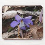 WildFlowers Birds-Foot Violet Hot Springs AR Gifts Mousepads
