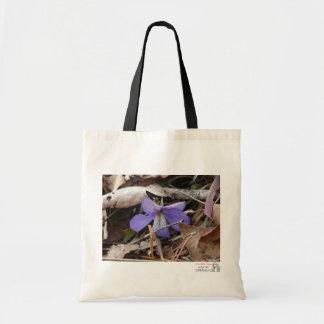 WildFlowers Birds-Foot Violet Hot Springs AR Gifts Tote Bag