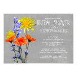 Wildflowers Bridal Shower Invitations Personalized Invitation