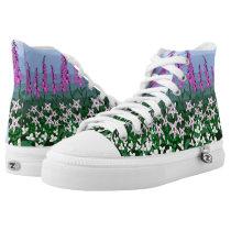 Wildflowers by Aleta High-Top Sneakers