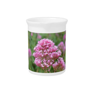 Wildflowers By The Sea Beverage Pitcher