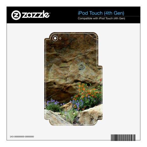 Wildflowers Calcomanías Para iPod Touch 4G