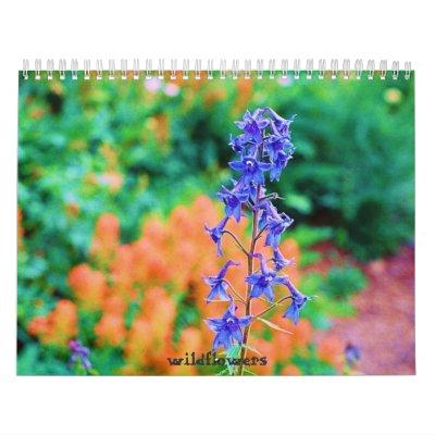 Wildflowers Calendario