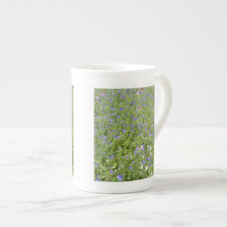 Wildflowers china mug