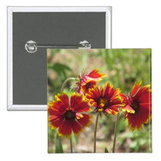 Wildflowers combinados indios pin cuadrado