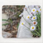 Wildflowers de la montaña alfombrilla de ratón