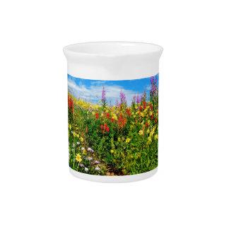 wildflowers de la montaña jarron