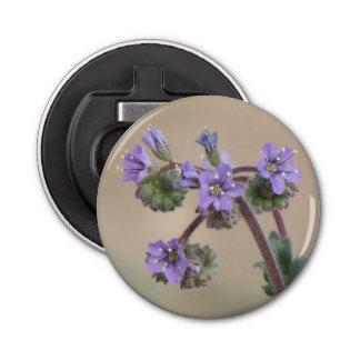 Wildflowers de la púrpura de Phacelia Abrebotellas Redondo