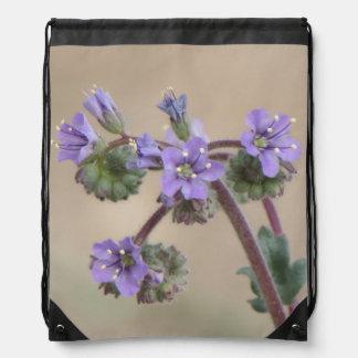 Wildflowers de la púrpura de Phacelia Mochilas