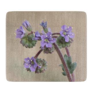Wildflowers de la púrpura de Phacelia Tablas De Cortar