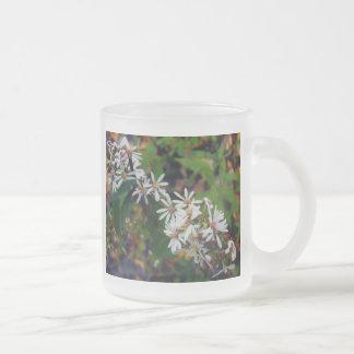 Wildflowers de Michigan Taza Cristal Mate